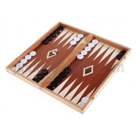Дървена игра шах + табла