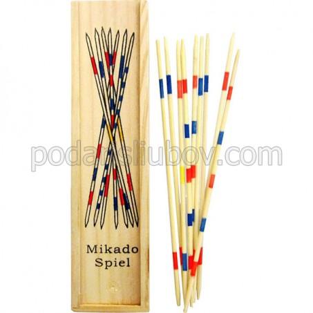 Дървена игра с пръчки Микадо