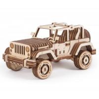 Сафари - кола, дървен 3Д конструктор