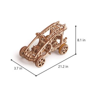 Бъги, дървен 3Д конструктор