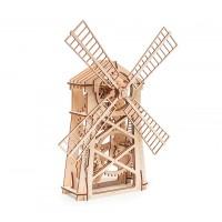Мелница, дървен 3Д конструктор