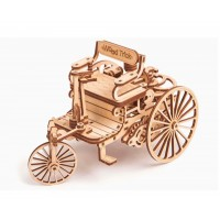Първата кола, дървен 3Д конструктор