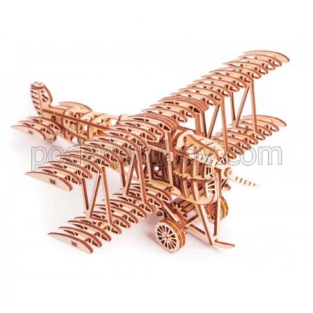 Самолет, дървен 3Д конструктор