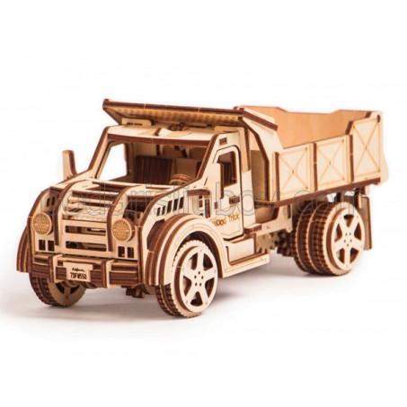 Камион, дървен 3Д конструктор