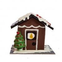 Коледна къщичка от шоколад