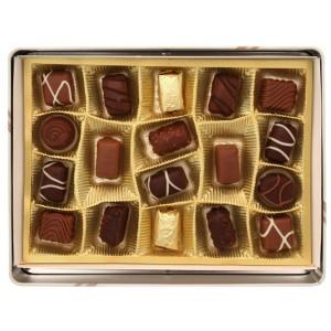 Бонбони в метална кутия