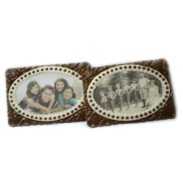 Шоколад с Ваша снимка в ретро рамка