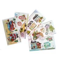 3Д картичка Честита Коледа 12*21,6см