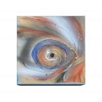 """""""Вихър"""", картина върху канаваца, 20*20см, дървена основа"""