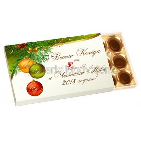 Корпоративен подарък бонбони Тофифи с Ваше лого