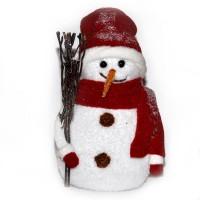 Снежно човече за декорация
