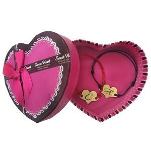 Комплект гривнички за влюбени с буква! Подарък - кутийка!