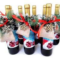 Червено вино и късмети за Коледа и Нова Година, на едро
