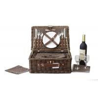 Кошница за пикник за двама тип Куфар