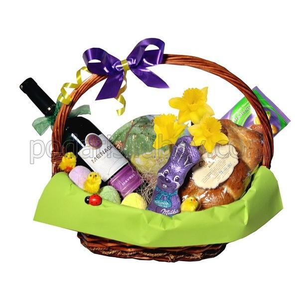 Пъстра Великденска кошница