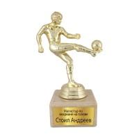 Статуетка за футболист - Магистър по вкарване на голове