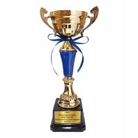 Златна купа за Дипломиране, със синьо тяло