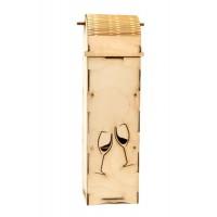 Дървена кутия за вино - различни модели