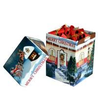 100 коледни късмета в красива кутия Merry Christmas