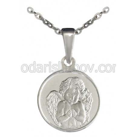 "Сребърен медальон ""Небесен Ангел"""
