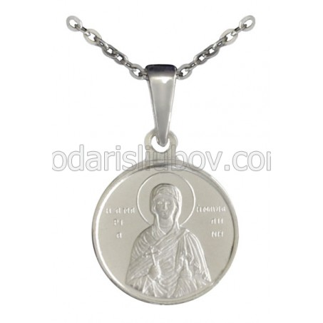 "Сребърен медальон ""Света Мария Магдалена"""