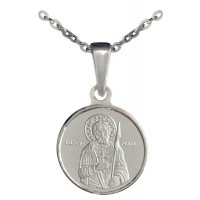 "Сребърен медальон ""Света Мина"""