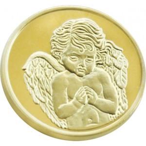 "Позлатен медал ""Свети Георги"", 3 гр., 1,6 см"