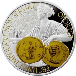 """Монета """"Монета, Богинята на парите и закрилата"""""""