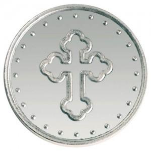 "Сребърен медал ""Небесен ангел"", 15,5 гр., 3 см"