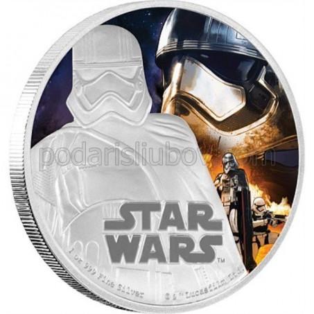 Сребърна монета Star Wars, Капитан Фазма