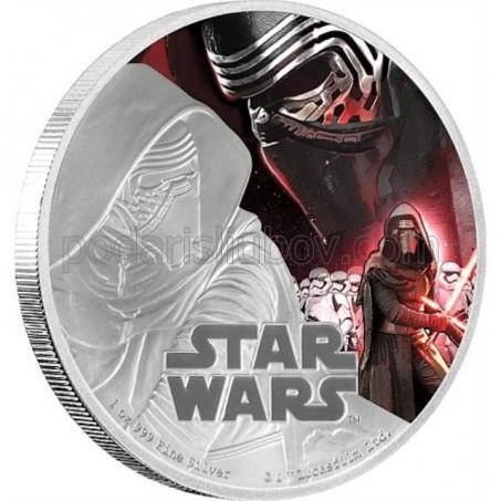 Сребърна монета Star Wars, Кайло Рен