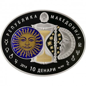 "Сребърна монета ""Зодиакални знаци - Скорпион"""