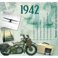 CD картичка с хитове от рождената 1942 година