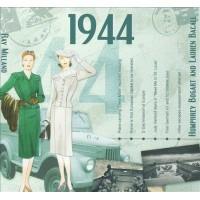 CD картичка с хитове от рождената 1944 година