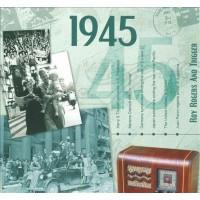 CD картичка с хитове от рождената 1945 година