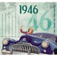 CD картичка с хитове от рождената 1946 година