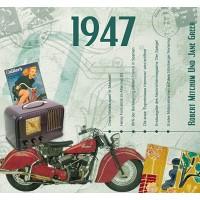 CD картичка с хитове от рождената 1947 година