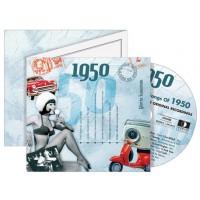 CD картичка с хитове от рождената 1950 година