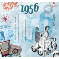 CD картичка с хитове от рождената 1956 година