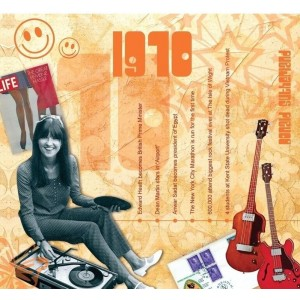 CD картичка с хитове от рождената 1970 година