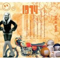 CD картичка с хитове от рождената 1974 година