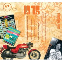 CD картичка с хитове от рождената 1975 година
