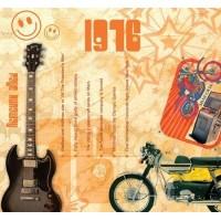 CD картичка с хитове от рождената 1976 година