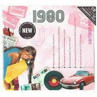 CD картичка с хитове от рождената 1980 година