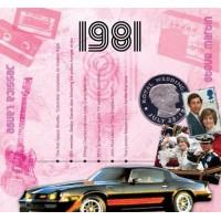 CD картичка с хитове от рождената 1981 година