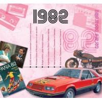 CD картичка с хитове от рождената 1982 година