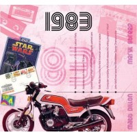 CD картичка с хитове от рождената 1983 година