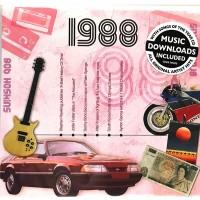 CD картичка с хитове от рождената 1988 година