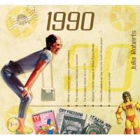 CD картичка с хитове от рождената 1990 година