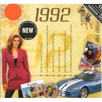 CD картичка с хитове от рождената 1992 година